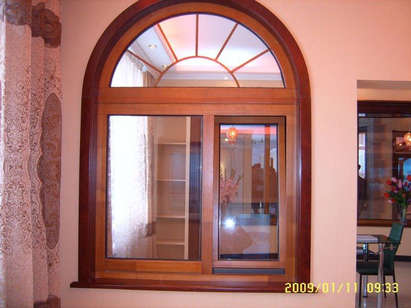 Arcos de madera para puertas top pasillo blanco de piso - Maderas para arcos ...